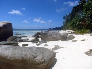 Strandabschnitt von Beau Vallon