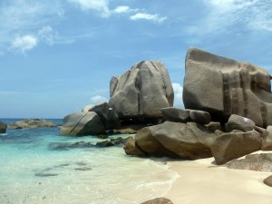 Felsformationen - La Digue